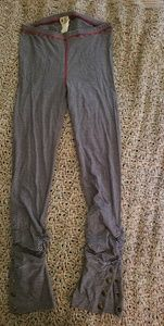 Free People Striped Leggings Blue/White Small